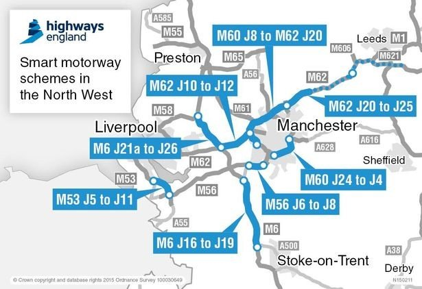 highways in manchester england