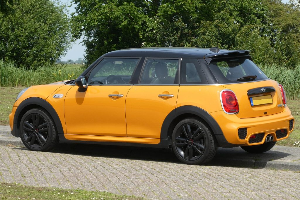 Latest model of the Mini Cooper S